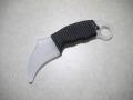 【TAK KNIFE】Karambit Claw(Emerson Combat Karambitスタイル)トレーニングナイフ(ブラックパラコード)