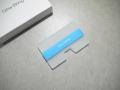 【New-Bring】カードホルダー(蓄光ブルー)