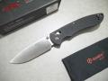 【GANZO】F740‐BK フォールディングナイフ(ブラック)
