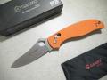 【GANZO】G733-OR フォールディングナイフ(オレンジ)