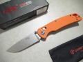 【GANZO】F7542-OR フォールディングナイフ(オレンジ)