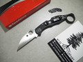 【Spyderco】Delica4Wharncliff フォールディングナイフ(WISE MEN COMPANY Signet Ring取り付け済み)