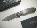 【GANZO】G727M-WD1 フォールディングナイフ(ウッド)
