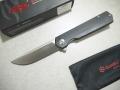 【GANZO】FH11-BKフォールディングナイフ(ブラック)