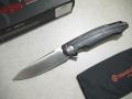 【GANZO】FH21-BKフォールディングナイフ(ブラック)