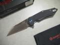 【GANZO】FH31-BKフォールディングナイフ(ブラック)