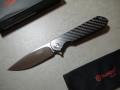 【GANZO】FH41-CF フォールディングナイフ(カーボンファイバー)