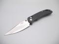 【GANZO】G7531- BKフォールディングナイフ(ブラック)