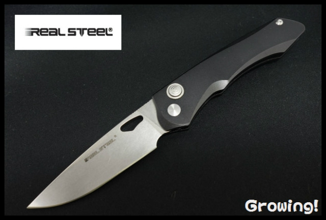 REAL STEEL【リアルスチール】■ 「E775」グリフィン 【14C28N】【アルミニウム】Griffin 7161 折りたたみ