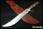 Rough Rider【ラフライダー】■ 大型スタッグボウイナイフ 【スタッグボーン】 全長 約39cm