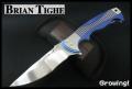 Brian Tighe【ブライアン・ティグ】■ レード 【RWL34】【フリッパー】【ボタンロック】【チタニウム】RADE カスタムナイフ 【配送料無料】