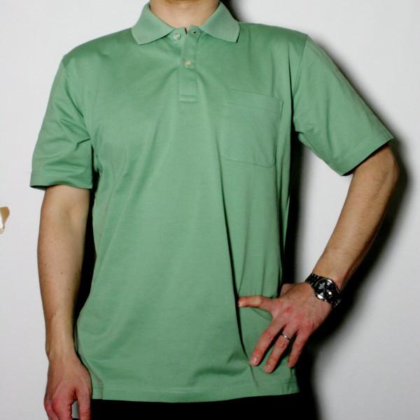 メンズベーシック半袖ポロシャツ