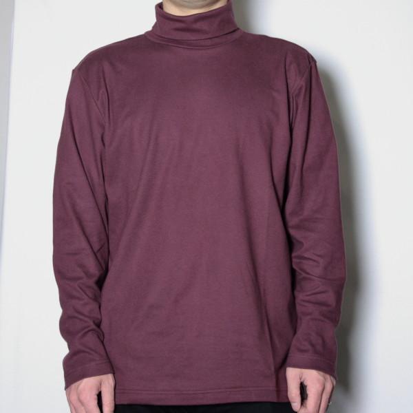 メンズタートルネックTシャツ