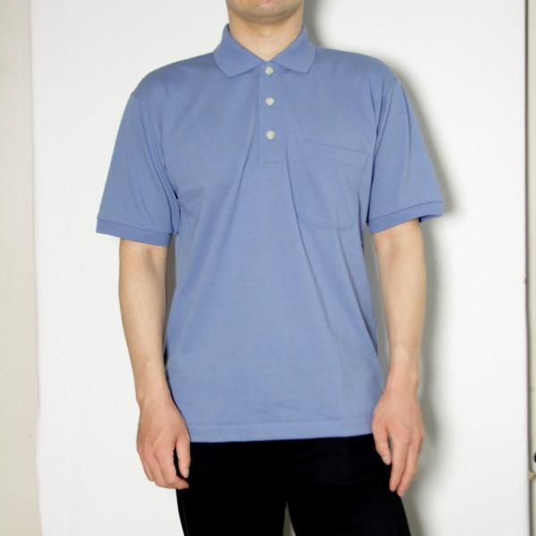紳士用半袖ポロシャツ