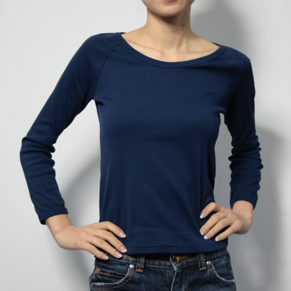 7分袖ラグランTシャツ