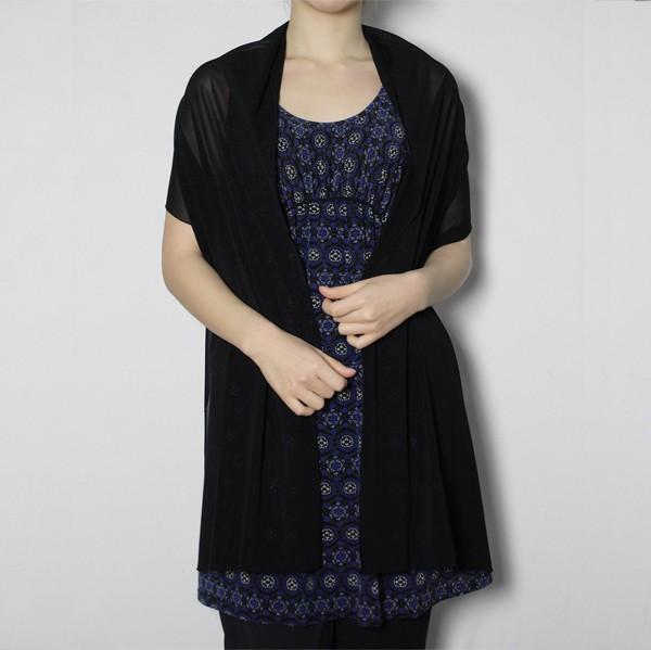 スカーフ付きチュニック【日本製】