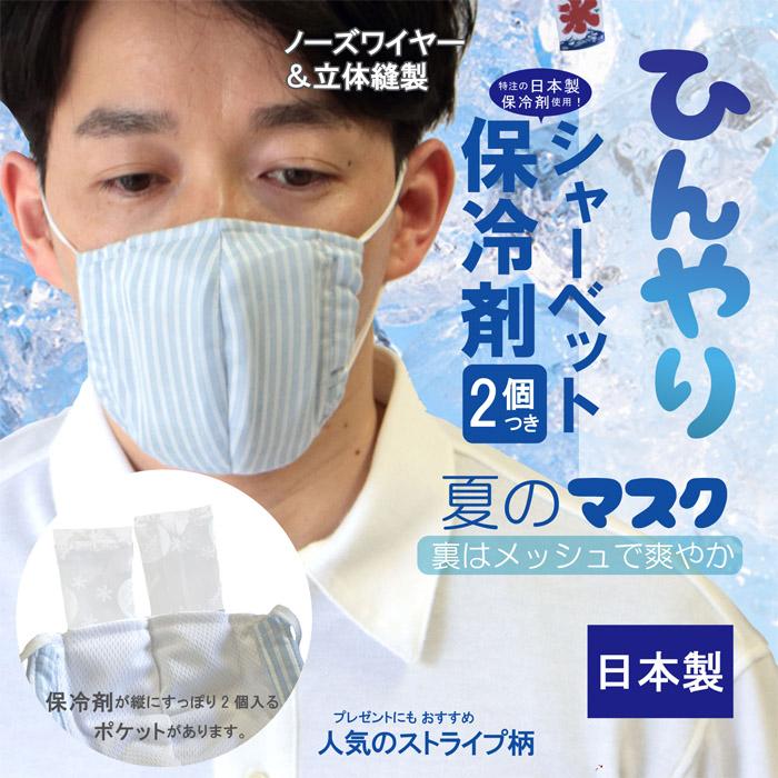 ひんやりマスク 保冷剤2個入