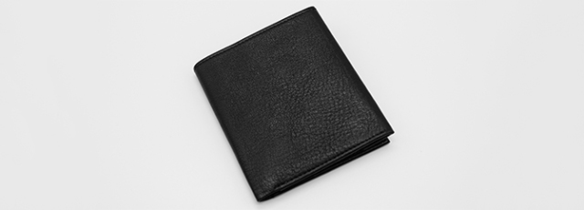 FRENCH CALF COMPACT WALLET(KW-3001)