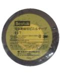 3M 電気絶縁用ビニルテープ117 黒  19×20m 小袋10巻入り