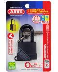 ABUS 南京錠 70 ブラック(BP70/35 Black) 小箱5個入り(お取り寄せ品)