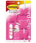 3M コマンド コードクリップ チョウ(ピンク)CMG-BP