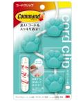 3M コマンド コードクリップ 肉球(ミント)CMG-PM
