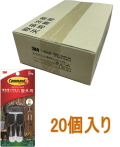 3M コマンドフック 屋外用ツールフック Mサイズ CMO-30 ケース20個入り(お取り寄せ品)