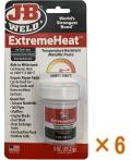 J-Bウエルド 極高温エクストリームヒート(ExtremaHeat)小箱6個入り(お取り寄せ品)
