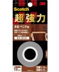 3M(スリーエム) 超強力両面テープ 木材・ベニア用(KMZ-19) 小袋20個入り