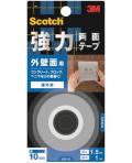 3M 強力両面テープ 外壁面用 (KB−10) 10×1.5m 小袋20巻入り