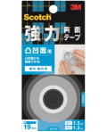 3M 強力両面テープ 凹凸面用 (KH−19) 19×1.5m 小袋20巻入り