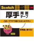 3M 業務用厚手両面テープ25 (PAD−25) 25×15m ケース36巻入り(お取り寄せ品)