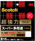 3M プレミアゴールド スーパー多用途 (PPS−15) 15mm×10m ケース10巻入(お取り寄せ品)