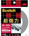 3M 超強力両面テープ 金属用・一般材料用 (SKD−12) 12×4m ケース20巻入り