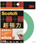 3M 超強力両面テープ 透明素材用 (STD−19) 19×4m