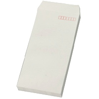 長3カラー封筒(235×120mm)グレー(紙厚=80g/m2)50枚入