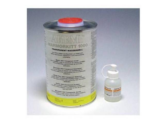 石材補修アケミ接着充填剤(900ml)クリスタル(硬化剤付)液体