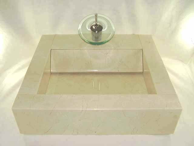 天然大理石 洗面台(クレママーフィル)