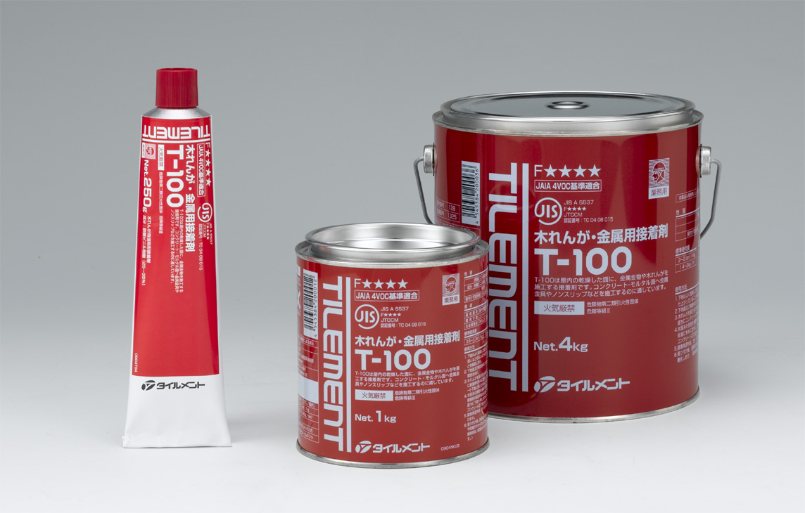 TILEMENT_タイルメント_(T-100_4kg缶入り)6缶/1セット