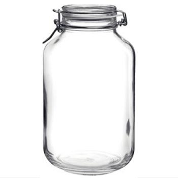 ボルミオリロッコ ガラス フィド ジャー 4.0L