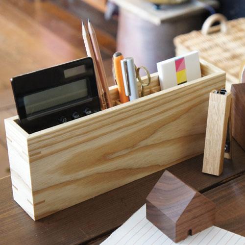 kidate 木製ペン立て