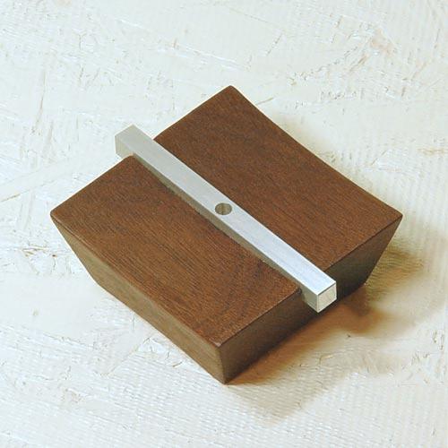 line 木製香立て
