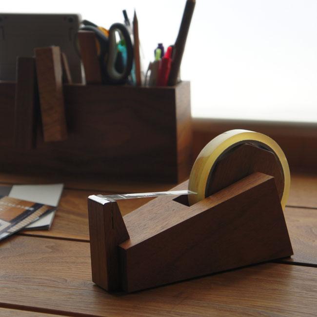 wedge 木製テープカッター