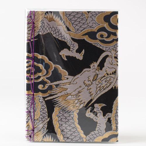 【高級国産金襴/銀】130P 龍神八郎太郎 御朱印帳