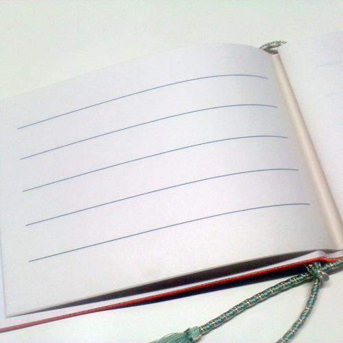 【ゲストブック】結婚式芳名帳 追加用和紙セット