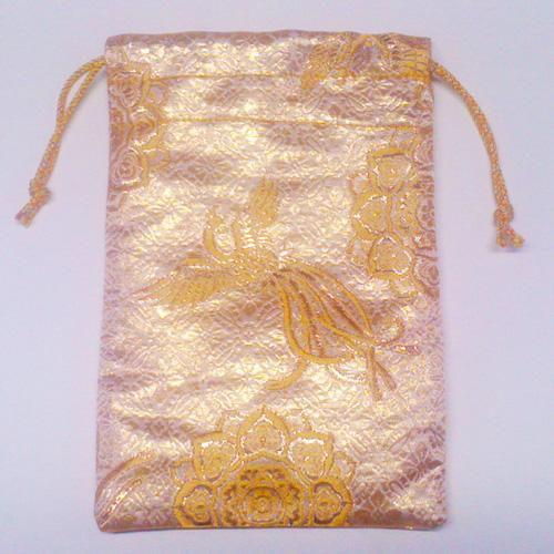 【御朱印帳袋】鳳凰の舞/黄金 小型蛇腹1冊用