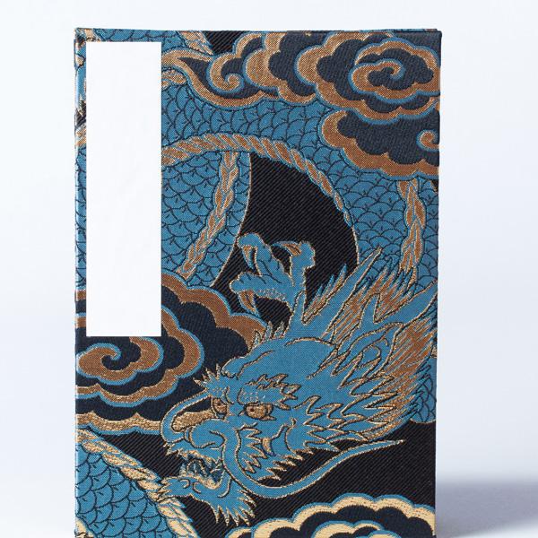 【御朱印帳】特大判18x26cm/蛇腹式/龍神八郎太郎(青龍Ver)