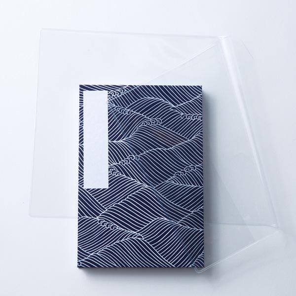 【蛇腹式専用】御朱印帳ビニールカバー3枚セット(小型用)
