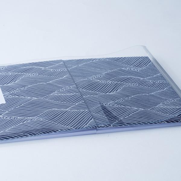 【蛇腹式専用】御朱印帳ビニールカバー3枚セット(大判用)