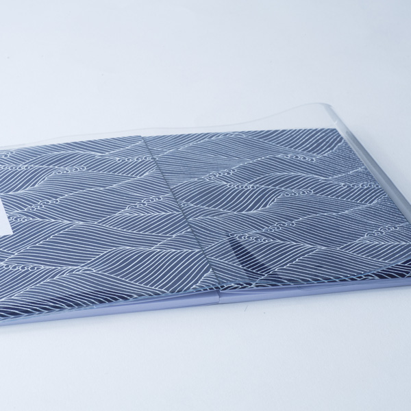 【蛇腹式専用】御朱印帳ビニールカバー5枚セット(大判用)